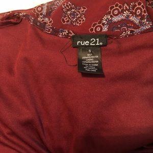 Rue21 Dresses - Printed Maxi Romper